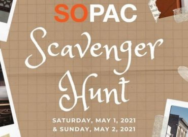 SOPAC Scavenger Hunt (May 1 -2)
